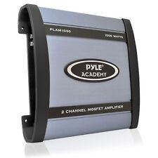 PYLE Academy 2 CH Due Canali 1000w Blu configurabili per Auto Altoparlante Amplificatore Amp