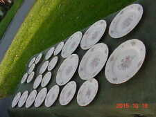 Vintage 24X Lot of MARIA V Fine Bohemian China Made in Czechoslovakia Dishes