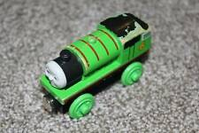 Thomas the Train & Friends Wooden Railway Percy Engine Green Learning Curve Toy
