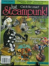 Just Steampunk Vol 8 2016 Fashion Dolls Home Decor Paper Arts FREE SHIPPING sb