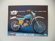 advertising Pubblicità 1977 MOTO MOTOBECANE TMS REGOLARITA' 50 SPORT