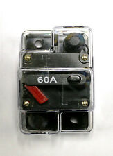 CB60 car and marine audio 60 Amp Resettable 12 Volt Fuse Circuit Breaker