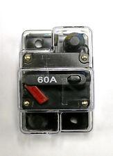 CB60 car and marine audio 60 Amp Resettable 12 Volt Fuse Circuit Breaker