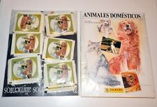 ¡ULTIMOS! ALBUM DE CROMOS ANIMALES DOMESTICOS + 50 SOBRES. PANINI STICKER PACKS