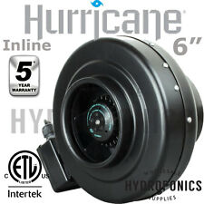 "Hurricane Inline Fan 6"" - 435 CFM (Duct, Blower Fan) In-line fan 6 inch"