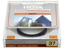 37mm. Filtro UV Hoya Multi Coated. Nuovo. Ultra Violet filter.