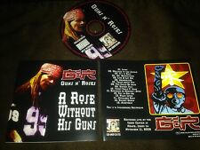 GUNS N ROSES IMPORT CD: ROSE WITHOUT HIS GUNS - LIVE IN IDAHO 2002 RARE!
