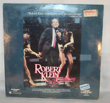 Laserdisc (7)  * Robert Klein On Broadway * Extended Play New Sealed (punch hole