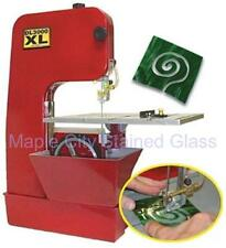 STAINED GLASS LAPIDARY NEW DIAMOND LASER DL3000XL  BANDSAW BAND SAW  - 2 BLADES