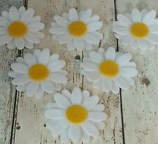 18 pcs Daisy flowers die cut felt applique & layering, tutus, bunting, cards