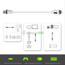 White USB Charging Multifunctional Smart USB Y- Cable F118 USB OTG Convenience