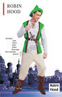 Brand New Mens Robin Hood Thieves Medieval Warrior Party Costume- 3 Sizes
