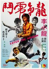 Enter The Dragon POSTER Bruce Lee LARGE JAPANESE Version - AMAZING COLORS