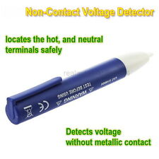 Electric Voltage Detector Non-Contact 90~1000V AC Tester Test METER Pen SU