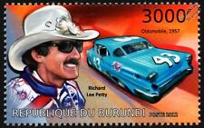 Richard Petty (el Rey) # 43 1957 Oldsmobile Nascar race/racing coche Sello (2012)