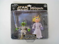 Disney STAR WARS The MUPPETS Kermit/ Miss Piggy - Luke Skywalker & Princess Leia