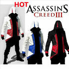 2016 Assassins Creed Hoodie Men's Trench Coats Casual Pullover Jacket Sweatshir