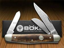 BOKER TREE BRAND Buckskin Bone Large Stockman Carbon Steel Pocket Knives Knife