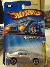 Hot Wheels 1969 Pontiac Firebird T/A #005 2005 First Editions Silver