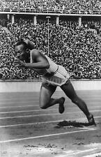 Jesse Owens 1936 Berlin Olympics 200 Metres, Reproduction Photograph 7x5 inches