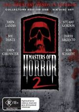 Masters Of Horror 2 : Collector's Edition 1 (DVD, 2007, 6-Disc Box Set)