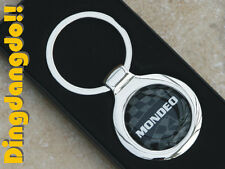 Mondeo Chrome Alloy Keyring Key Ring Gift fit for Ford