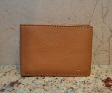 New Soft Supple Leather Levenger Trifold Wallet For Notes Cash ID Credit Card