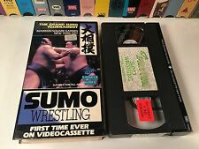* Sumo Wrestling - The Grand Sumo Tournament Rare VHS 1985 Documentary Konishiki