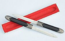 Chinese Unique Metal Sword Knife Craft  boutique Blade Collection Xmas Gift 07