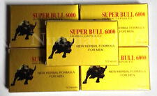 Super Bull 6000 - 60 Pills - 5 Boxes Herbal Male Enhancement Pill - FAST SHIP