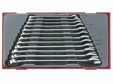 TENG 12 PIECE METRIC COMBINATION SPANNER WRENCH SET 8-19mm in Storage Tray