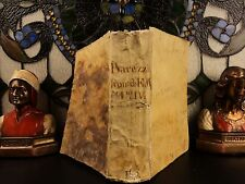 1599 MIRACLES of St Francis of Assisi by Marcos of Lisboa Franciscan Chronicle