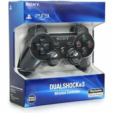 SONY PLAYSTATION 3 PS3 WIRELESS CONTROLLER DUALSHOCK 3 - BLACK-FREE DELIVERY PS3