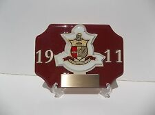 KAPPA ALPHA PSI DESK TROPHY WITH DSIPLAY STAND