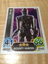 STAR WARS Force Awakens - Force Attax Trading Card #062 IG-88