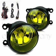 2005-2007 Ford Ranger STX Fog Lights w/Wiring Kit & High Power COB Bulbs- Yellow