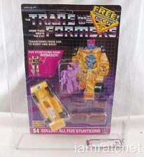 Transformers Original G1 AFA 80 Stunticon Dragstrip W/ Decoy MOSC 80/85/90