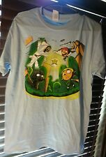 Gildan Men's M Sky blue Gamer Tshirt Mario, Vader, Zelda NWOT