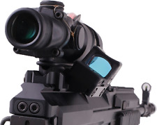 VZ58 Weaver mount for Acog 4x32 w/ side rail for RMR, docter sight style sights
