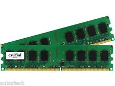 4gb (2x 2gb) Memoria Ram Para Dell Poweredge 830 840 850 860 R200 Pc2-6400 800 Mhz