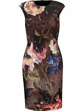 Roberto Cavalli CLASS Floral  Dress UK14 IT46 US10