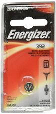 50 Pack Energizer 392 Button Cell Watch 1.55V Battery