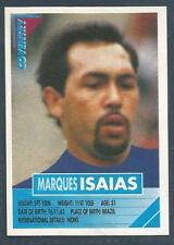 PANINI SUPERPLAYERS 1996 #085-COVENTRY CITY-BENFICA-BOAVISTA-MARQUES ISAIAS