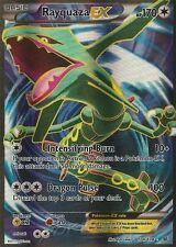 1 x Rayquaza-EX - 104/108 - Full Art Ultra Rare Pokemon XY Roaring Skies