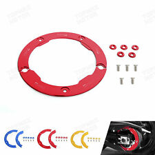 Red Aluminum Transmission Belt Pully Cover Anodized  Yamaha T-MAX 530 2012-2015