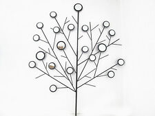 Beautiful and Stylish  Mirrored Tree Metal Wall Art- Contemporary New 78cm x64cm