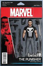 Punisher Vol 10 #1 John Tyler Christopher Action Figure Cover. NM Marvel Comic