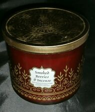 Bath & Body Works - Smoked Berries & Incense Candle