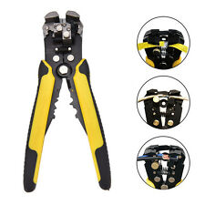 Professional Wire Striper Cutter Crimper Pliers Stripper Terminal Automatic Tool