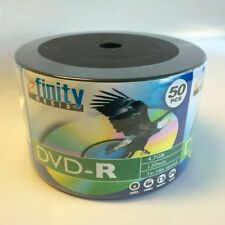 SPECIAL! 100 efinity Logo Blank 16X DVD-R Disc 4.7GB Free Expedited Shipping!